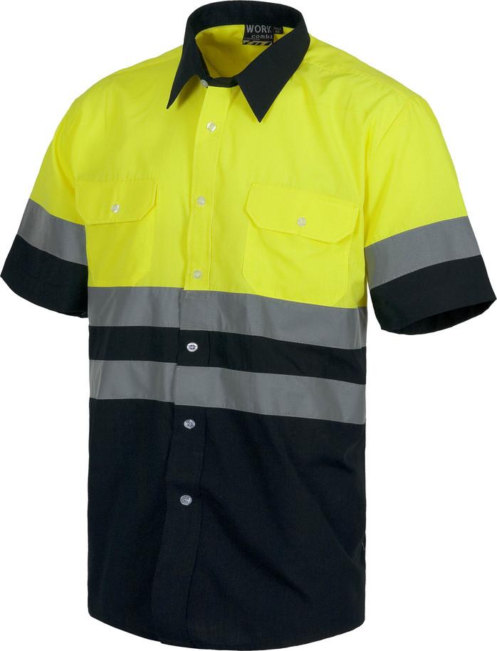 Camisa WORK alta visibilidad c3811