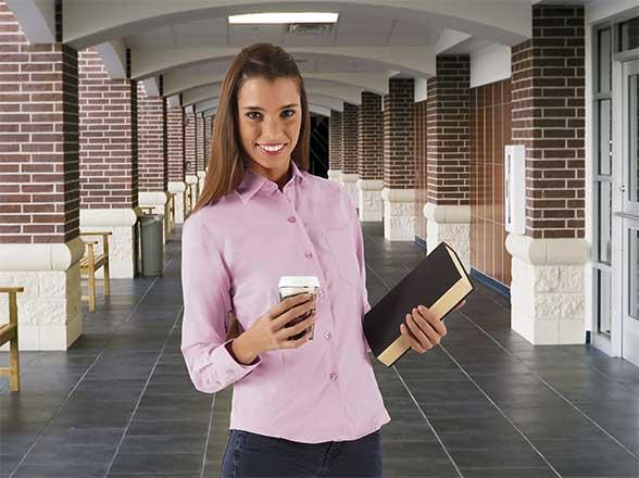 camisa mujer manga larga STAR