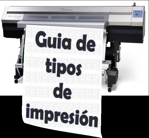 Guia de tipos de impresión