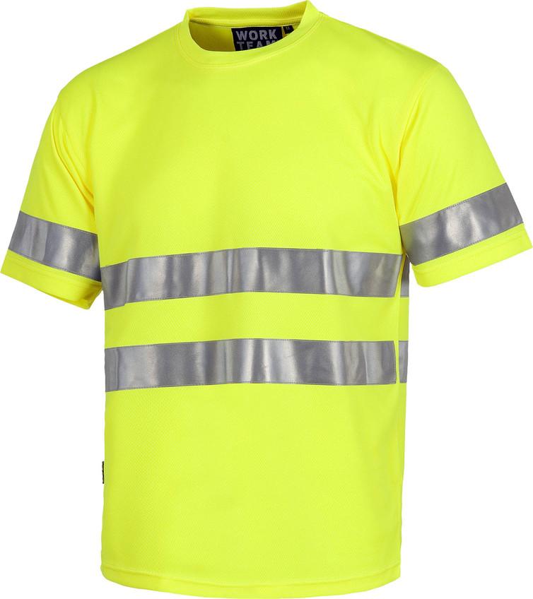 Camiseta WORK alta visibilidad c3945