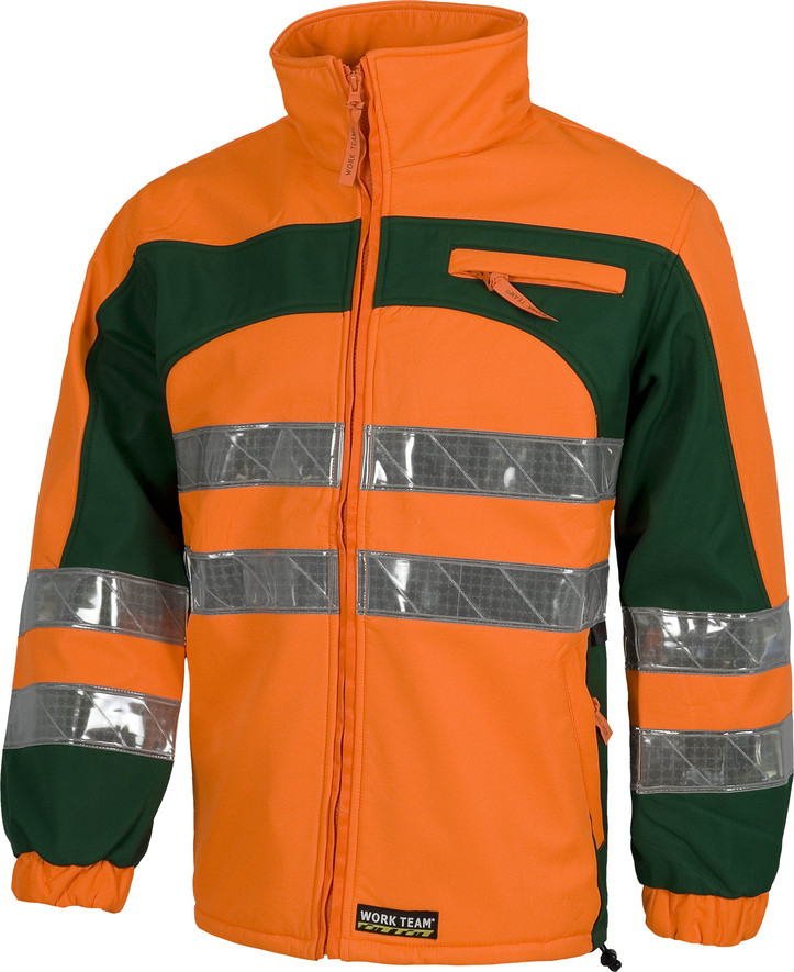 Chaqueta WORK workshell reflexite c2808