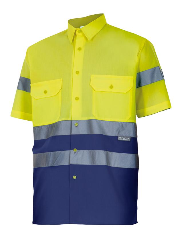Camisa Bicolor A.V. Velilla Serie 142