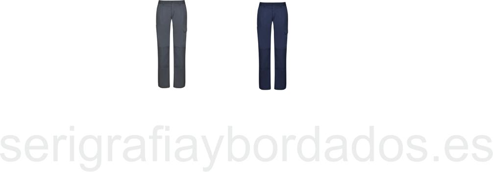 Pantalon Laboral WomanSerigrafia Daily Roly Bordados Y bYy6gf7