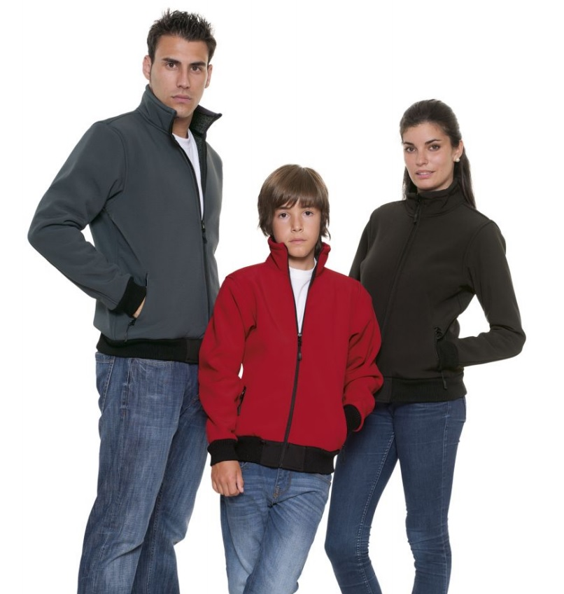 chaqueta softshell ALASKA