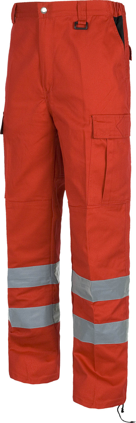 Pantalon WORK bicolor refle c4017