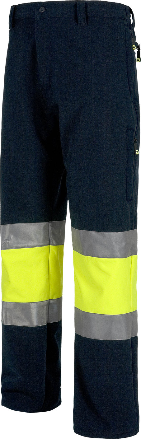 Pantalon WORK workshell alta visibilidad s9820