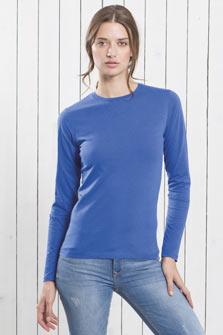 Camiseta manga larga lady comfort LS