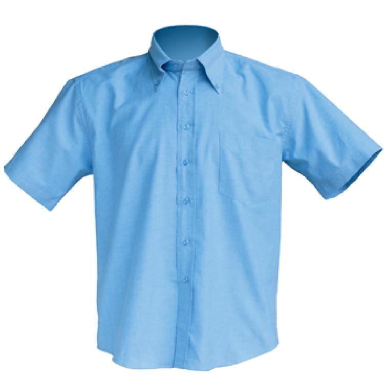 Camisa manga corta JHK con bolsillo oxford