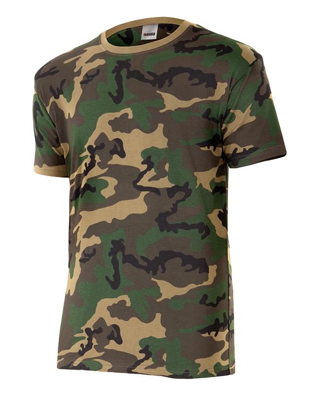 Camiseta Camuflaje Velilla Serie 506