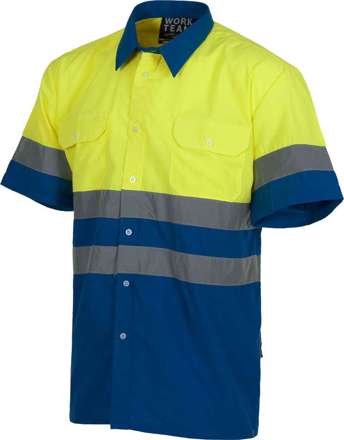 Camisa WORK alta visibilidad c3812