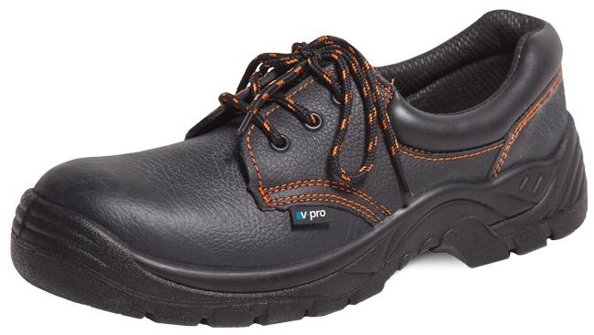 Zapato con Puntera y Plantilla de Acero Velilla Serie 3ZAP250N