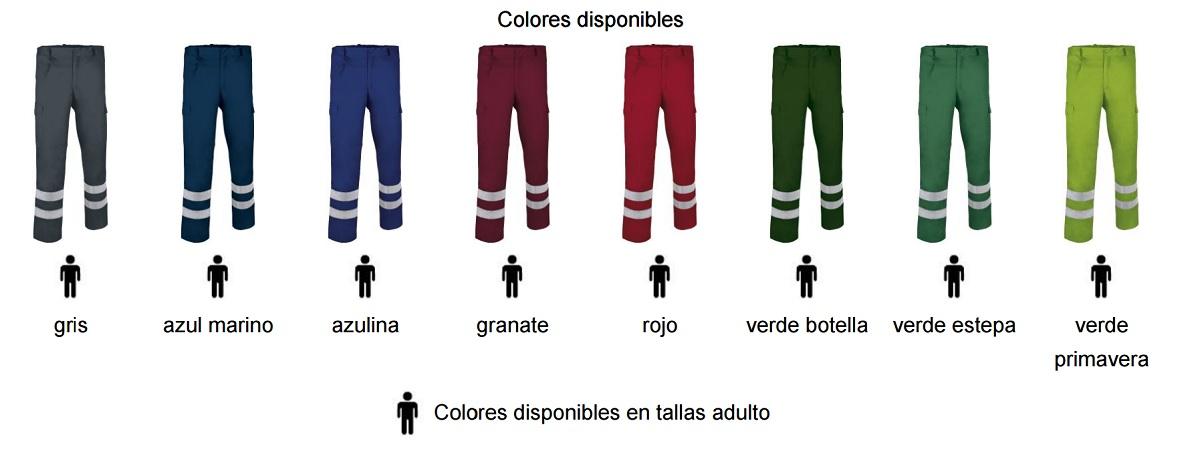 pantalón DRILL | Serigrafia y bordados