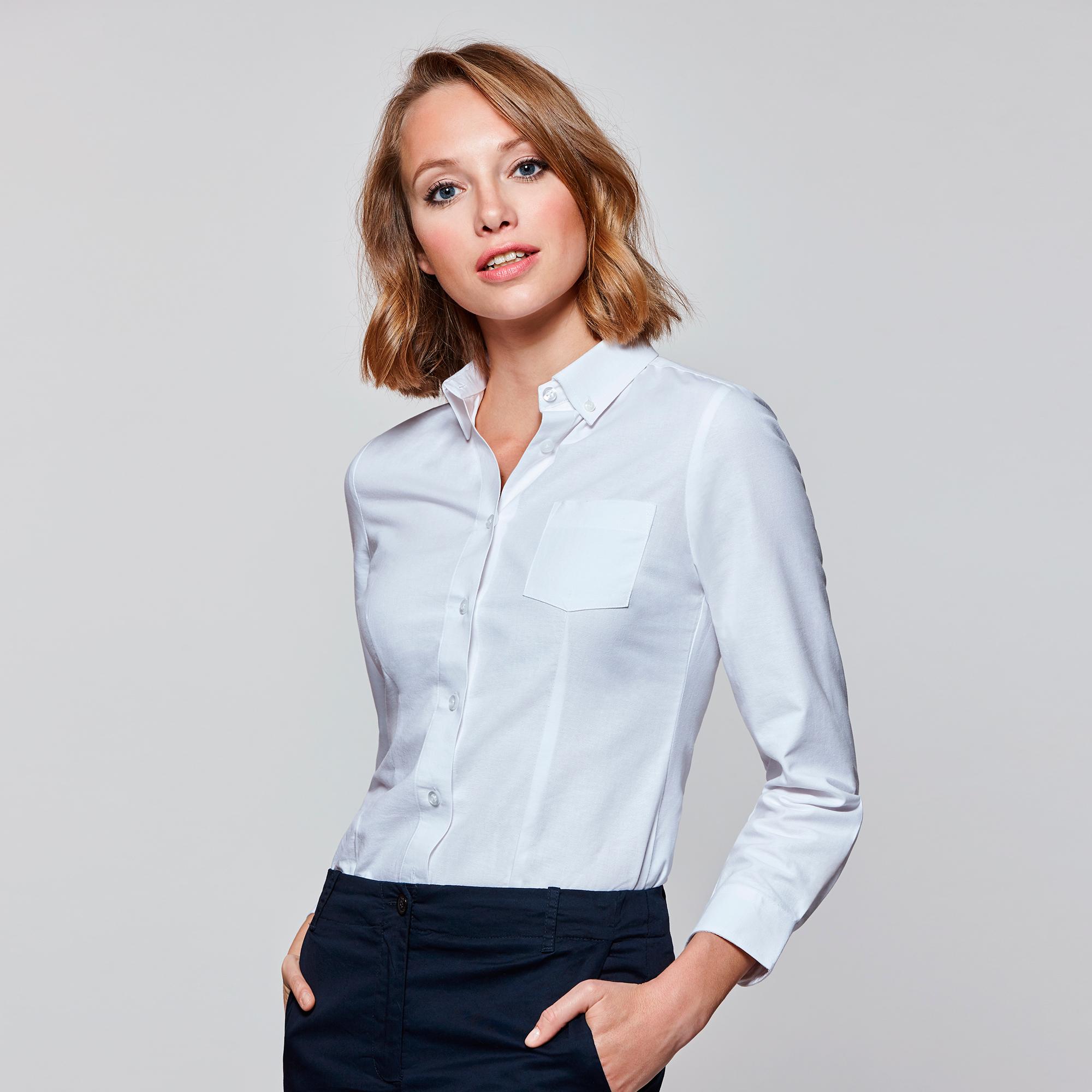 f19c0dd8f9 Camisa ROLY Oxford mujer