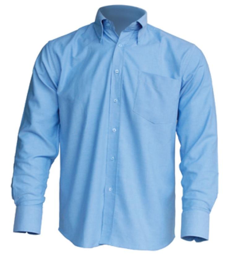 camisa JHK Oxford con bolsillo