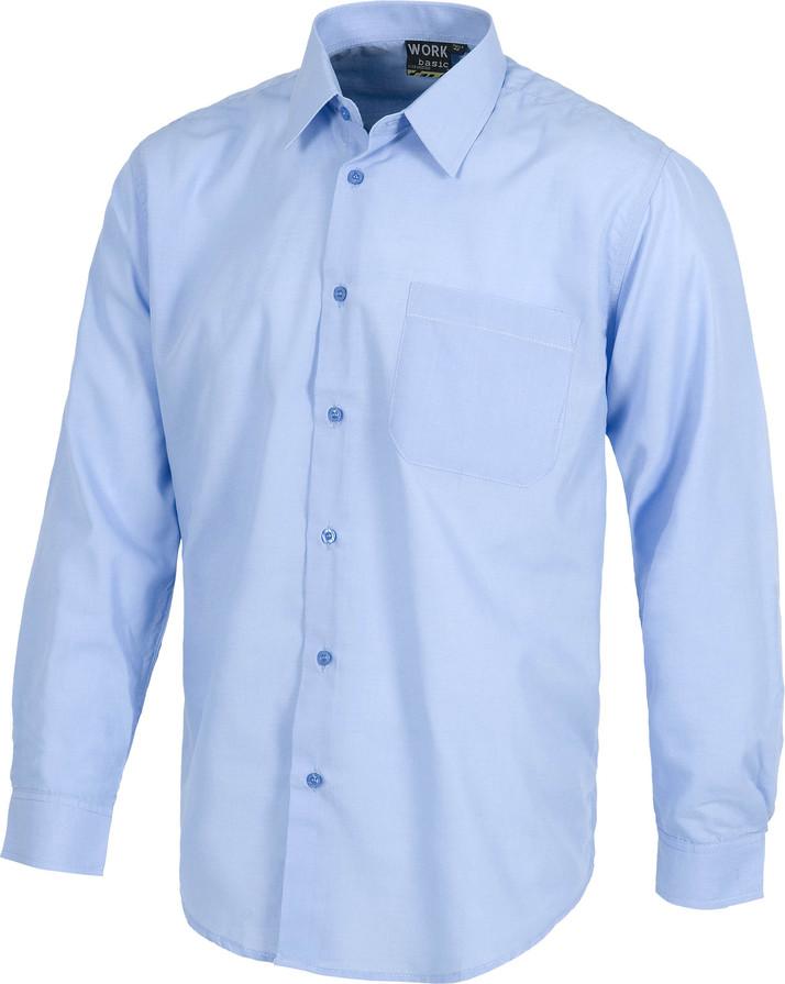 Camisa WORK manga larga y bolsillo b8000