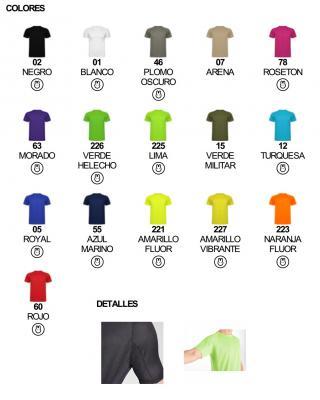 Camiseta tecnica ROLY montecarlo