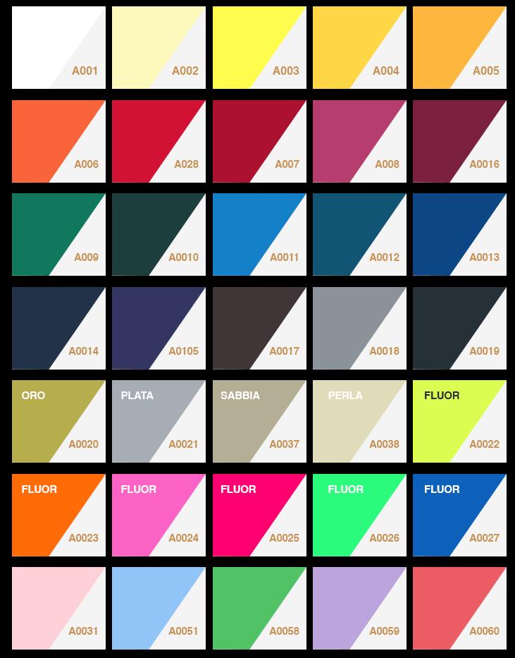 Vinilo textil colores